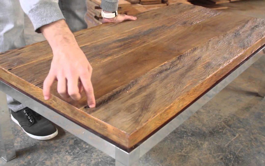 4 grandes benefícios da madeira de demolição